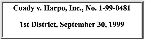 Coady v. Harpo, Inc.