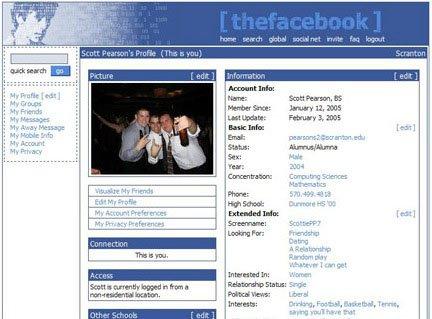 The design of Facebook in 2014