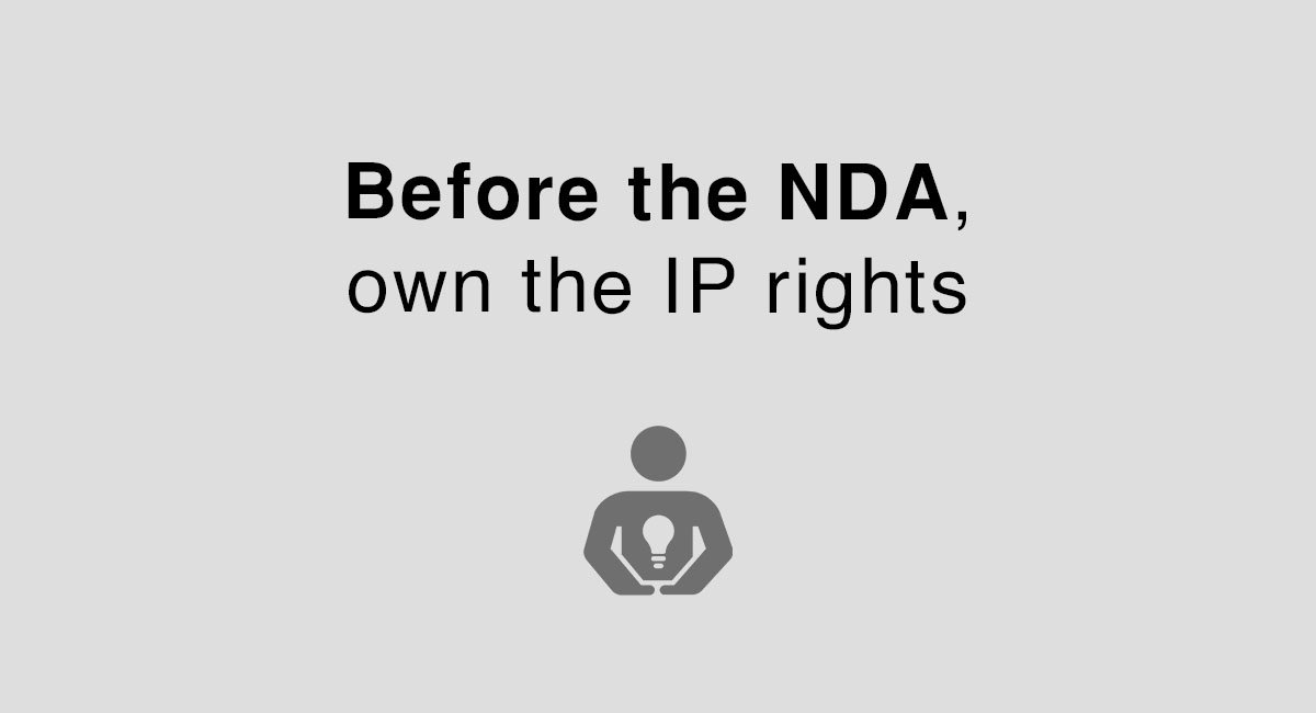 Before The NDA Own The IP Rights EveryNDA - Ip nda template