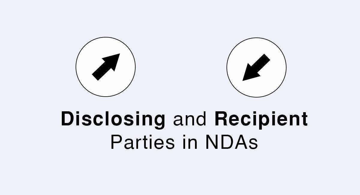 Disclosing And Recipient Parties In Ndas Everynda