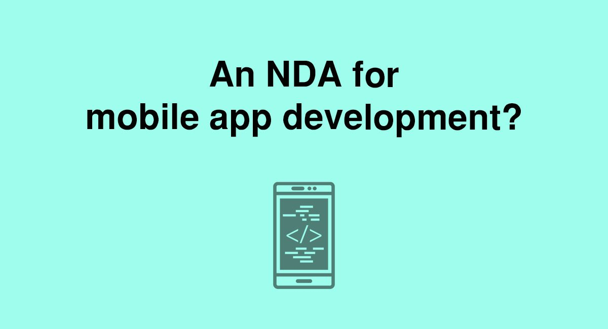 Should You Use An Nda For Mobile App Development Everynda