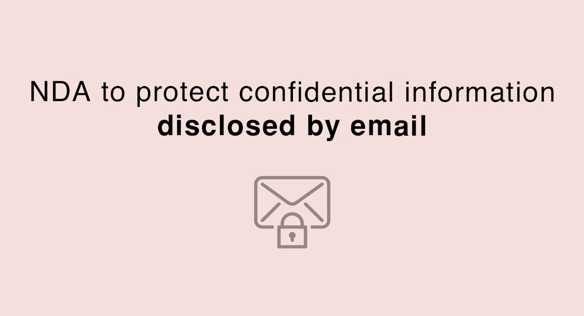 Protect Confidential Information Disclosed By Email