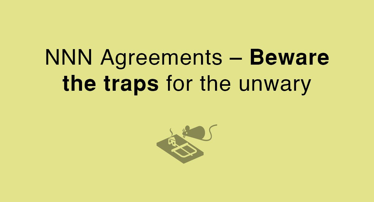 Nnn Agreements Beware The Traps For The Unwary Everynda