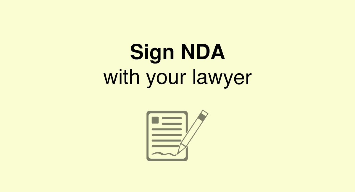 Do You Need To Sign A Nda With Your Lawyer  Everynda